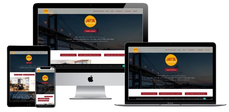 Just Be Responsive Web Design Examples